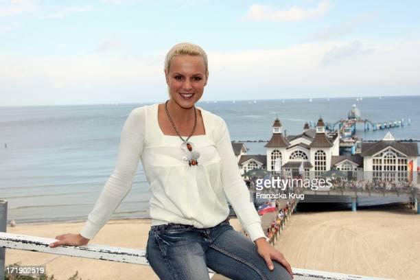 Anja Nejarri Bei Der '3 Rügen Cross Country' Von T Demtröder Auf Rügen
