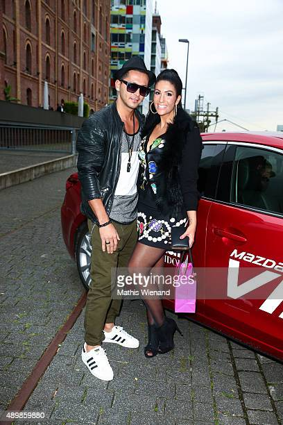 Anja Polzer and DJ To attend the Icons Idols No 3 event to celebrate the 10th anniversary of InTouch magazine on September 24 2015 in Duesseldorf...