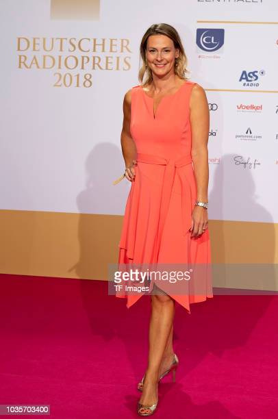 Anja Reschke attend the Deutscher Radiopreis at Schuppen 52 on September 6 2018 in Hamburg Germany