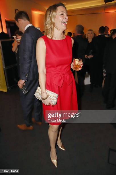 Anja Reschke attends the 'Ahoi 2018 The special kind of New Year's Reception on January 13 2018 in Hamburg Germany