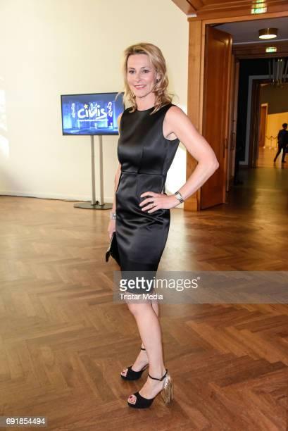 Anja Reschke attends the CIVIS Media Award 2017 on June 1 2017 in Berlin Germany