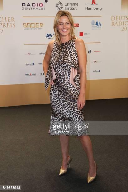 Anja Reschke attends the Deutscher Radiopreis at Elbphilharmonie on September 7 2017 in Hamburg Germany 'n