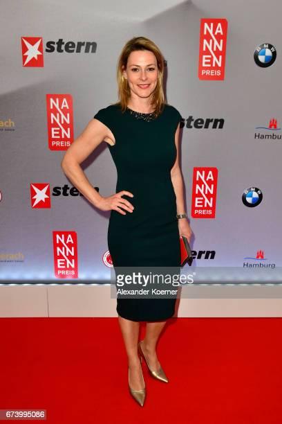 Anja Reschke attends the Nannen Award 2017 on April 27 2017 in Hamburg Germany