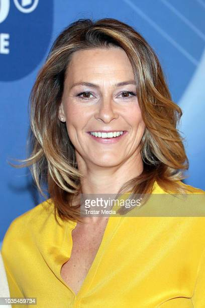 Anja Reschke attends the photo call for ARD theme week 'Gerechtigkeit' on September 18 2018 in Hamburg Germany