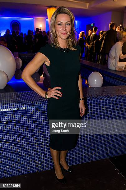 Anja Reschke during the ARD advent dinner hosted by the program director of the tv station Erstes Deutsches Fernsehen at Hotel Bayerischer Hof on...