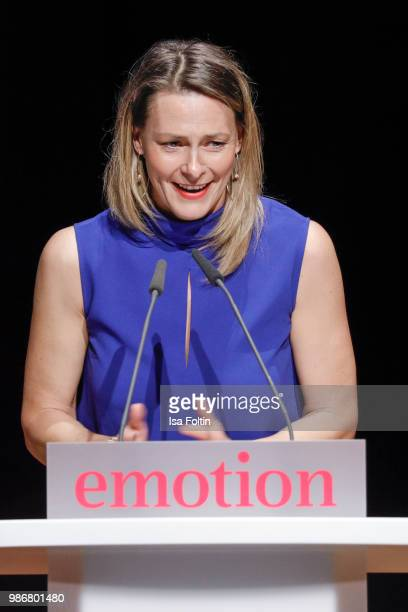 Anja Reschke during the Emotion Award at Curio Haus on June 28 2018 in Hamburg Germany