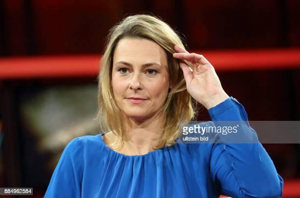 Anja Reschke in der ARDTalkshow GÜNTHER JAUCH am in Berlin Pöbeln hetzen drohen Wird der Hass gesellschaftsfähig