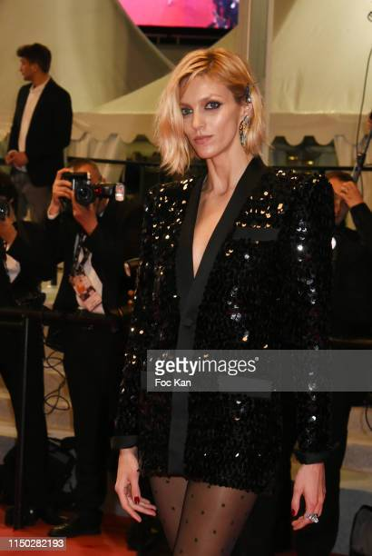 """Anja Rubik attend the screening of """"Lux Aeterna"""" during the 72nd annual Cannes Film Festival on May 18, 2019 in Cannes, France."""