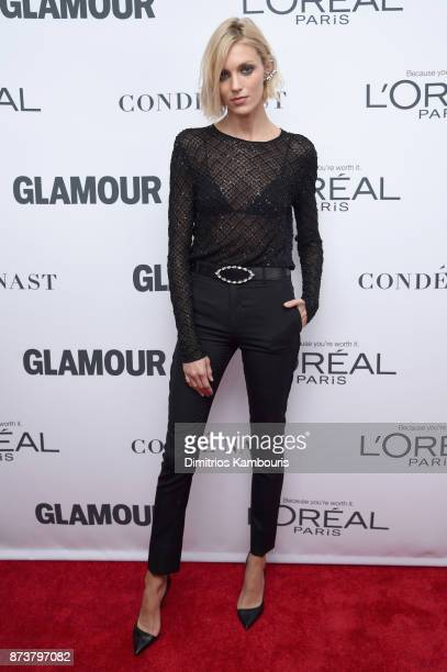 Anja Rubik attends Glamour's 2017 Women of The Year Awards at Kings Theatre on November 13 2017 in Brooklyn New York