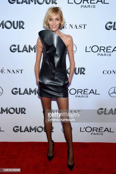 Anja Rubik attends the 2018 Glamour Women Of The Year Awards Women Rise on November 12 2018 in New York City