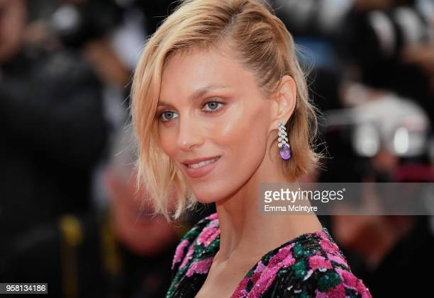 Anja Rubik attends the screening of 'Sink Or Swim ' during the 71st annual Cannes Film Festival at Palais des Festivals on May 13 2018 in Cannes...