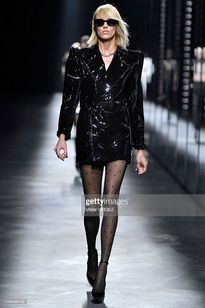 Saint Laurent - Runway - Paris Fashion Week Womenswear Fall/Winter 2019/2020 : News Photo
