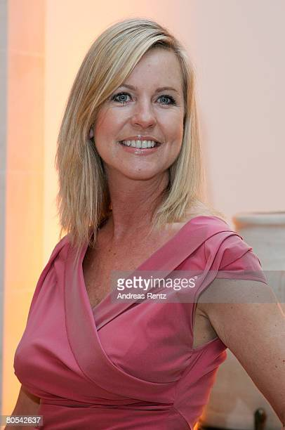 Anja Schuete attends the Felix Burda award gala at Adlon Hotel on April 6 2008 in Berlin Germany