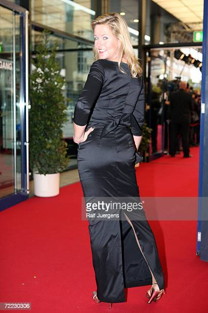 Anja Schuete attends the German Television Awards at the Coloneum on October 20 2006 in Cologne Germany