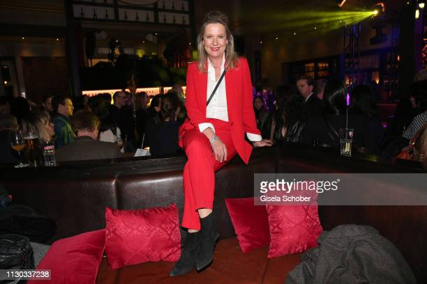 Anja Schuete during the NdF after work press cocktail at Parkcafe on March 13 2019 in Munich Germany