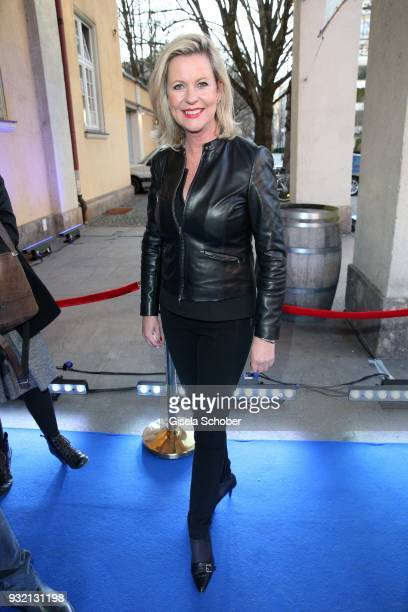 Anja Schuette during the NdF after work press cocktail at Parkcafe on March 14 2018 in Munich Germany