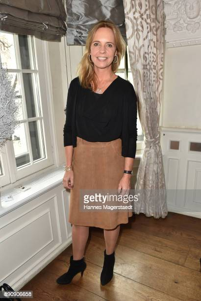 Anja Thyssen attend the DKMS LIFECharity Ladies Christmas Lunch at Kaefer Schaenke on December 12 2017 in Munich Germany