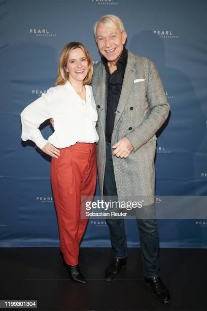 Anja Tillack and Jo Groebel attend the PEARL Model Management Fashion Aperitif at The Reed on January 13 2020 in Berlin Germany