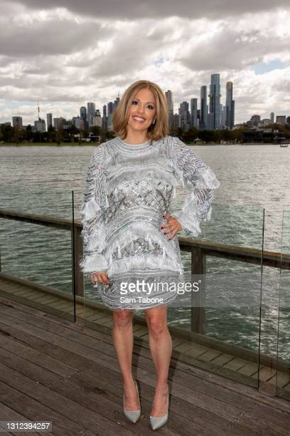 Anjali Rao attends the cast announcement for The Real Housewives of Melbourne season 5 on April 14, 2021 in Melbourne, Australia.