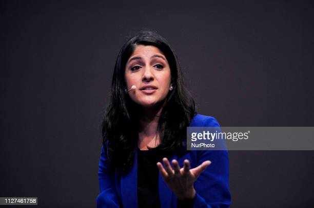 Anjali Sud Vimeo CEO held a conference about the Immersive Content during the Mobile World Congress on February 25 2019 in Barcelona Spain