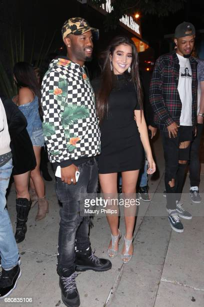 Anjali 'World' Ranadive and Casey Veggies attend Anjali World official release party for her new single 'UH OH' featuring Casey Veggies at Bootsy...