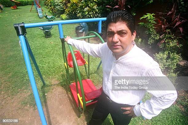 Anjan Chatterjee director Speciality Restaurants Pvt Ltd which owns the Oh Calcutta and Mainland China Restaurant poses at outdoor location in...