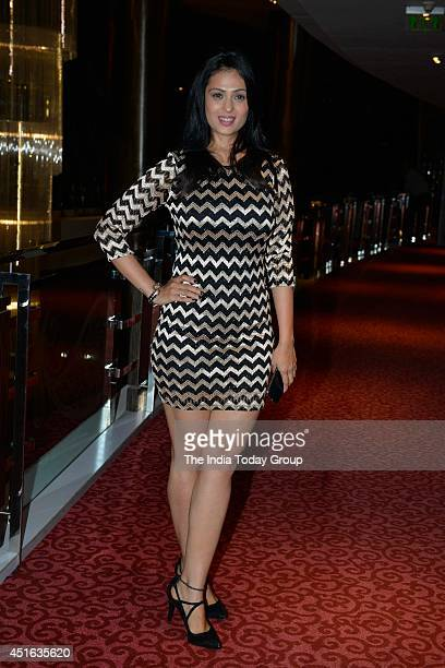 Anjana Sukhani at the '100 Sexiest Women in the World 2014' bash held at Hotel Sofitel in Mumbai on WednesdayJuly 22014