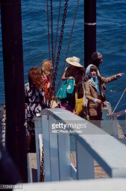Anjanette Comer, Julie Sommars, Joan Hackett, Denise Nicholas, Stefanie Powers appearing in the Walt Disney Television via Getty Images tv movie...