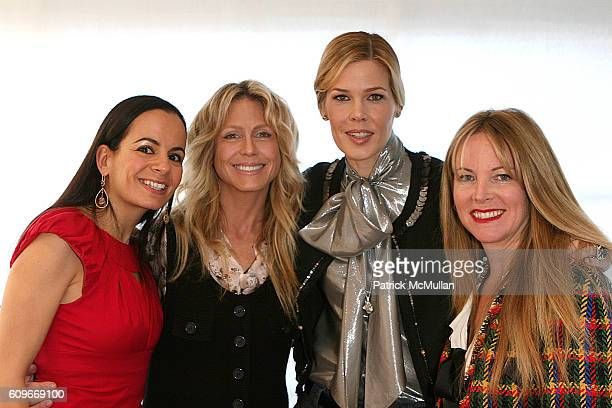 Anjanette Dienne Clisure Tracey Ross Mary Alice Stephenson and Maria Bell attend Mary Alice Stephenson and Anjanette Dienne Clisure Host a Private...