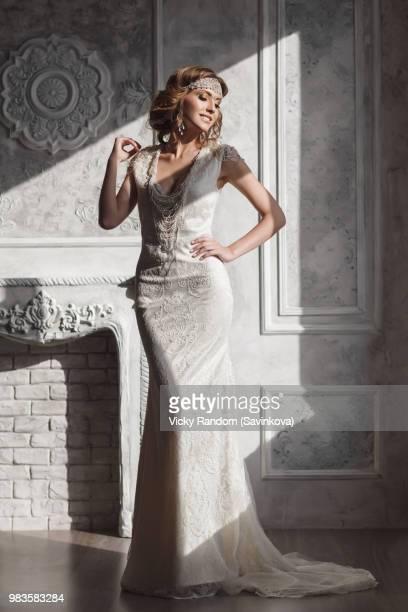 anjela - long dress stock pictures, royalty-free photos & images