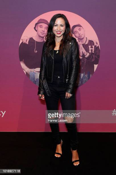 Anjelah Johnson attends Move In The City at Royal Hall of Industries Moore Park on August 15 2018 in Sydney Australia