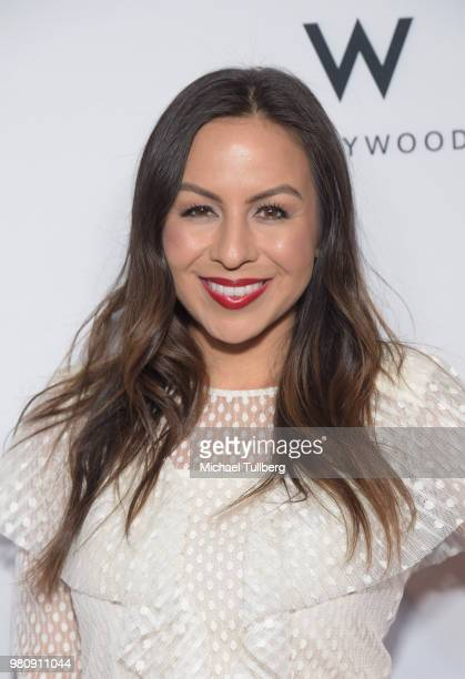 Anjelah Johnson attends 'Nights Of Freedom LA' hosted by Unlikely Heroes at W Hollywood on June 21 2018 in Hollywood California