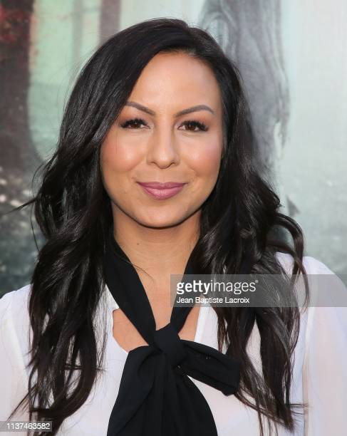 Anjelah Johnson attends the premiere of Warner Bros' 'The Curse Of La Llorona' at the Egyptian Theatre on April 15 2019 in Hollywood California