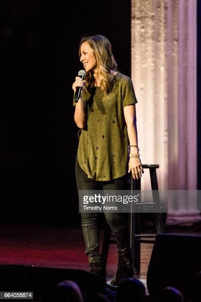 Anjelah Johnson performs during KROQ Presents Kevin Bean's April Foolishness 2017 at The Shrine Auditorium on April 1 2017 in Los Angeles California