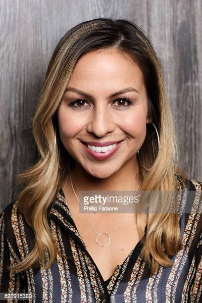 Anjelah Johnson Portrait Session on July 25 2017 in Los Angeles California