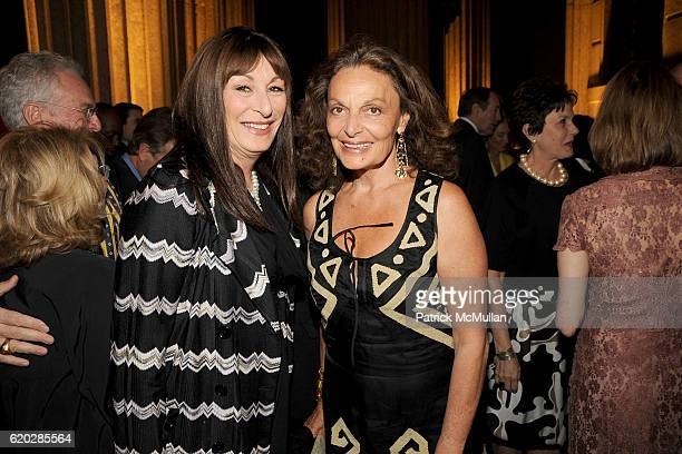 Anjelica Huston and Diane von Furstenberg attend VANITY FAIR Tribeca Film Festival Party hosted by GRAYDON CARTER ROBERT DE NIRO and RONALD PERELMAN...
