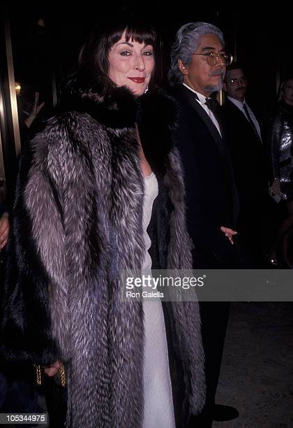 Anjelica Huston and Robert Graham during 11th Annual CFDA Awards Dinner at Lincoln Center in New York City New York United States