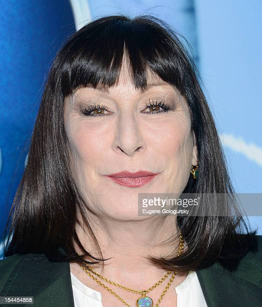 Anjelica Huston attends 'Secret Of Wings' New York Premiere at AMC Loews Lincoln Square on October 20 2012 in New York City