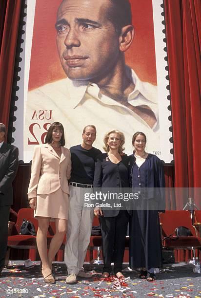 Anjelica Huston Bruce Willis Lauren Bacall and Leslie Bogart