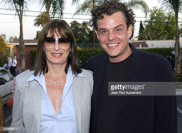Anjelica Huston Danny Huston during Ivansxtc Los Angeles Premiere at Raleigh Studios in Los Angeles California United States