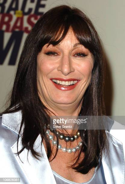 Anjelica Huston during 12th Annual Race to Erase MS CoChaired by Tommy Hilfiger and Nancy Davis Arrivals at Century Plaza Hotel in Century City...
