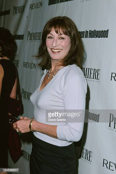 Anjelica Huston during 6th Annual Women In Hollywood Luncheon at Four Seasons Hotel in Beverly Hills California United States