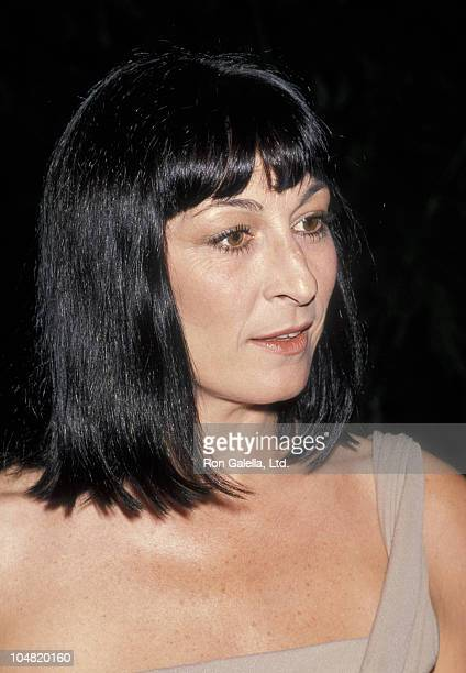 Anjelica Huston during AFI Achievement Awards Salute to David Lean at Beverly Hilton Hotel in Beverly Hills CA United States