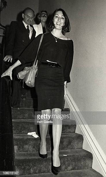 Anjelica Huston during 'Amadeus' Premiere Party in New York September 12 1984 at The Limelight in New York City New York United States