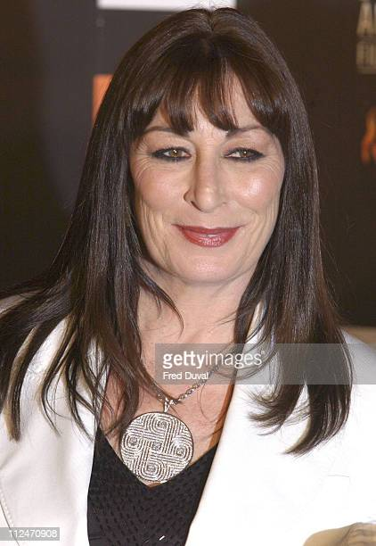 Anjelica Huston during BAFTA Film Awards 2005 Press Room at Odeon Leicester Square in London Great Britain