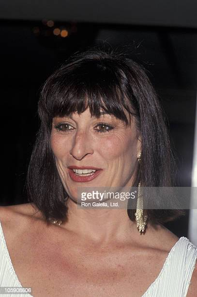Anjelica Huston during Dorothy Chandler Awards June 9 1991 at Beverly Wilshire Hotel in Beverly Hills California United States