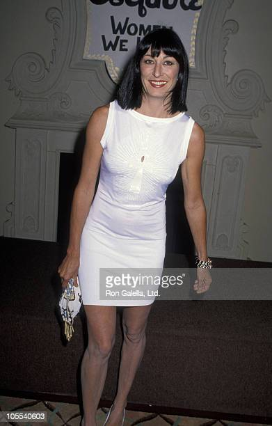 Anjelica Huston during Esquire's 'Women We Love' Celebration July 19 1990 at Beverly Hills Hotel in Beverly Hills California United States