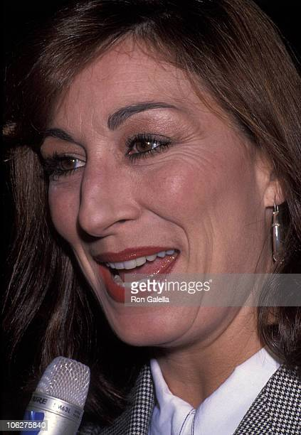 Anjelica Huston during Kodak Second Century Awards Luncheon October 22 1992 at Beverly Hills Hotel in Beverly Hills California United States
