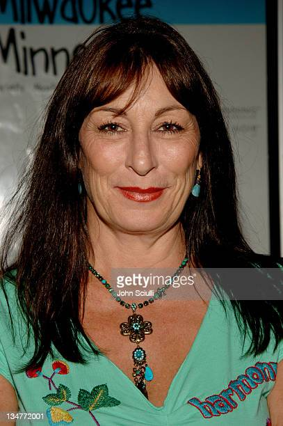 Anjelica Huston during 'Milwakee MN' Los Angeles Screening August 5 2005 at Fairfax Laemele Theatre in Los Angeles California United States