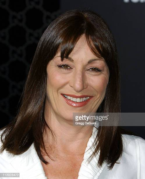 Anjelica Huston during Rodeo Drive Walk of Style Event Honoring Tom Ford Arrivals at Rodeo Drive in Beverly Hills California United States
